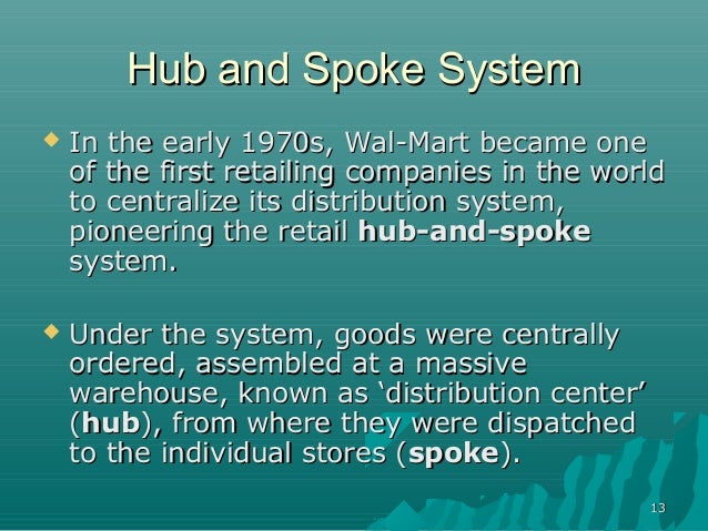 wal mart supply chain Wal-mart: supply chain management background business process redesign: process, it implications: process, it wal-mart is.
