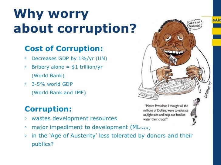 Corruption and Economic Development
