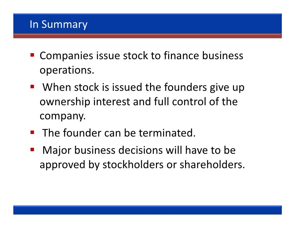 Company issued stock options