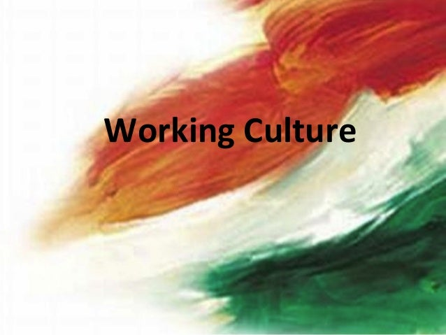 Working Culture in India Slide 2