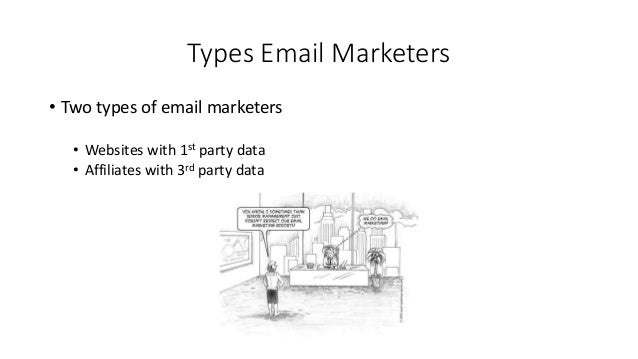 Working with Affiliate Email Marketers Slide 3