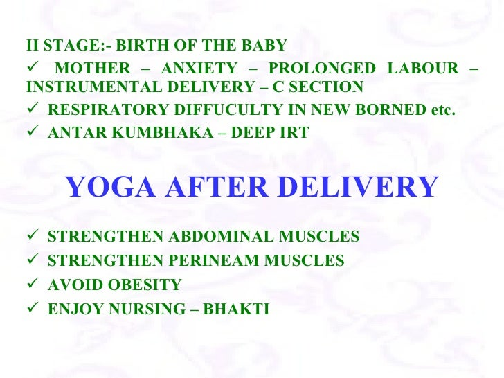 2 Yoga For Pregnancy Ppt