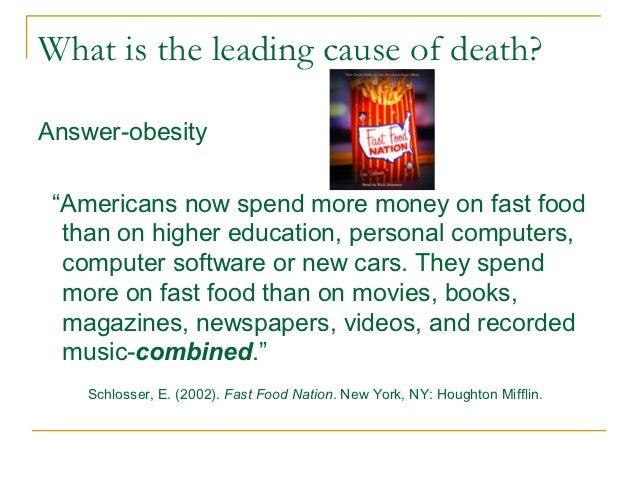 Fast Food Nation Answer Key