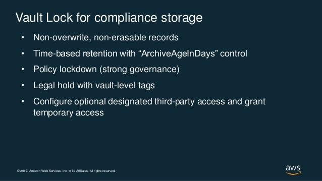 Deploy and Enforce Compliance Controls When Archiving Large-Scale Dat…