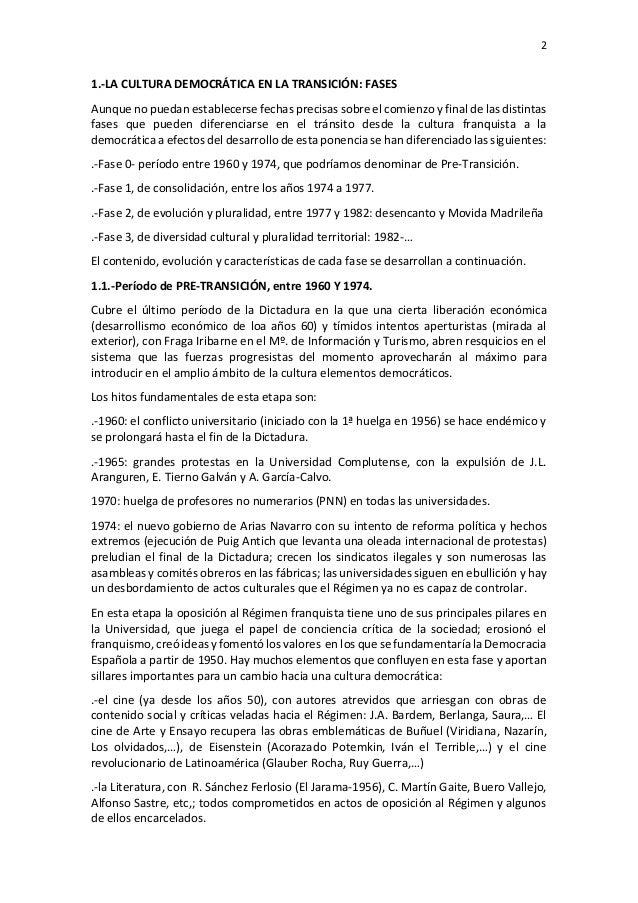 """Seminario """"La Transición"""" - La Transición Cultural Slide 2"""