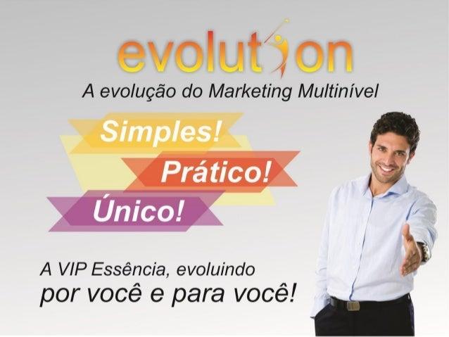 Atualização Apresentação Evolution online