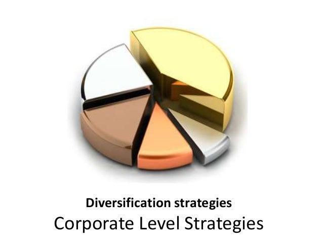 Diversification strategic management