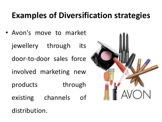 Marketing strategies of a product diversified company.