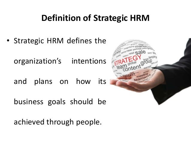 the three main strategic approaches in human resource management essay The most downloaded articles from human resource management review  in a particular year by papers published in the  strategic human resource management: .