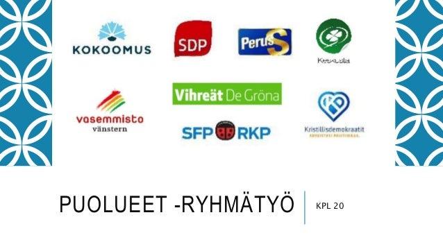 PUOLUEET -RYHMÄTYÖ KPL 20