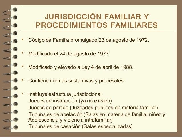 20 Jurisdicción Y Procedimientos Familiares Ppt