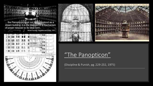 foucault vs panopticon The panopticon of j bentham, ie a theoretical prison structure, an ideal prison building designed in a way that allows observing of the prisoners from.