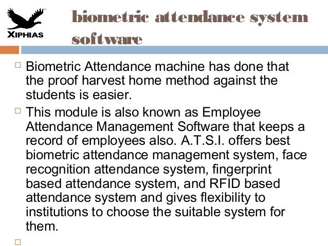 20 biometric attendance system software