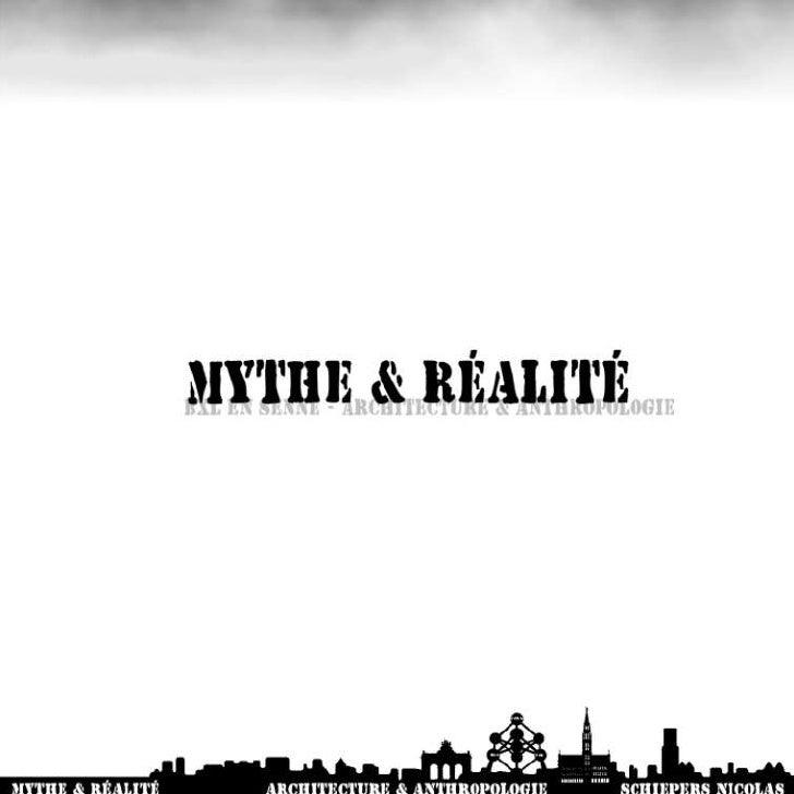 Bxl en Senne : Mythe & Réalité : Evolution Schiepers