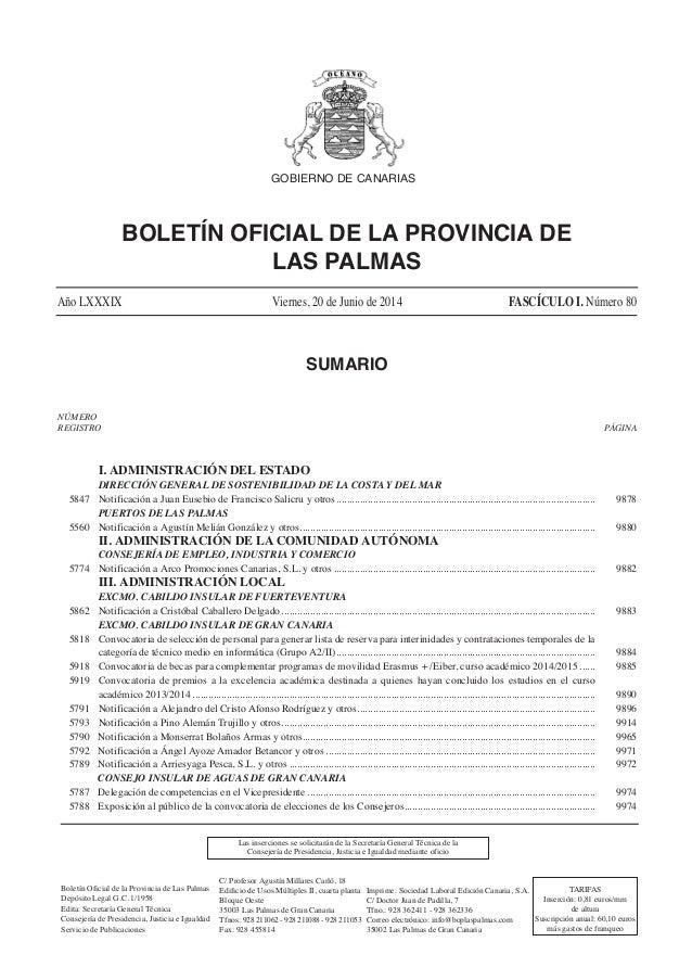 I. ADMINISTRACIÓN DEL ESTADO DIRECCIÓN GENERAL DE SOSTENIBILIDAD DE LA COSTA Y DEL MAR 5847 Notificación a Juan Eusebio de...