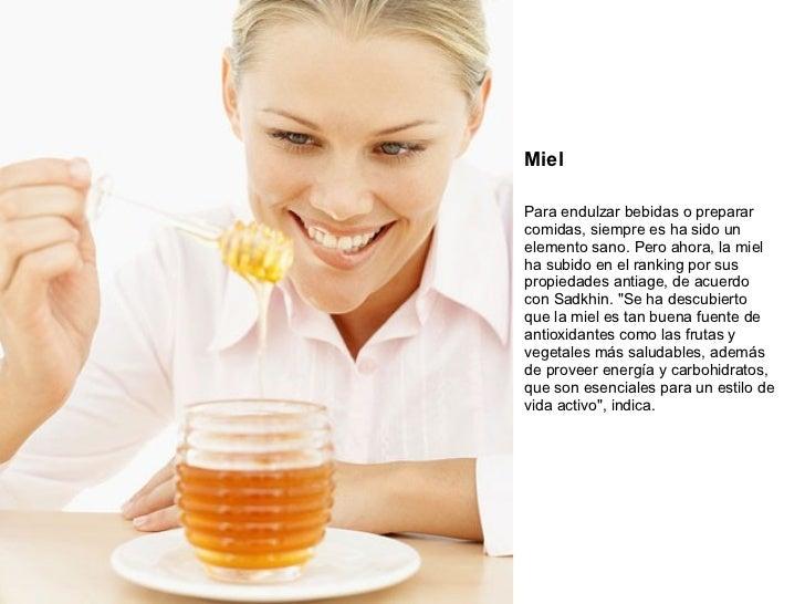 20 alimentos anti envejecimiento - Alimentos antienvejecimiento ...
