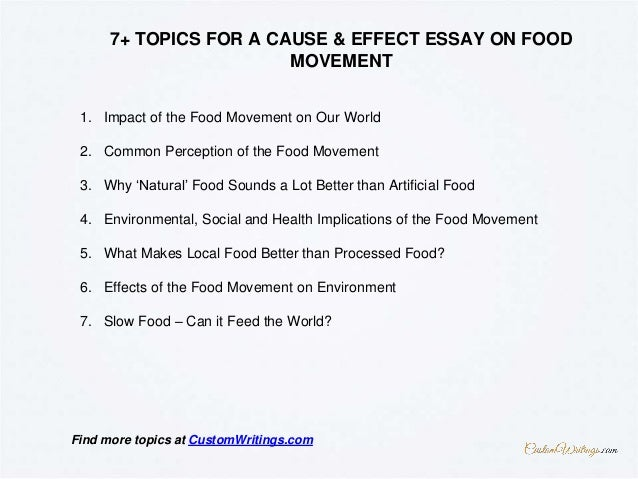 Essays Examples English Find More At Customwritingscom  How To Write An Essay Thesis also Example Of Thesis Statement In An Essay Complete Guide On Writing A Cause  Effect Essay On Food Movement Business Essay Structure