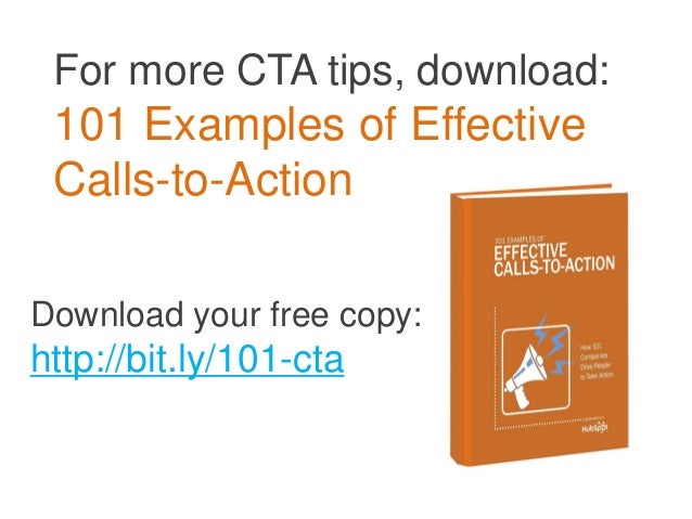 20 Do's & Don'ts for Clickable Calls-to-Action Slide 2