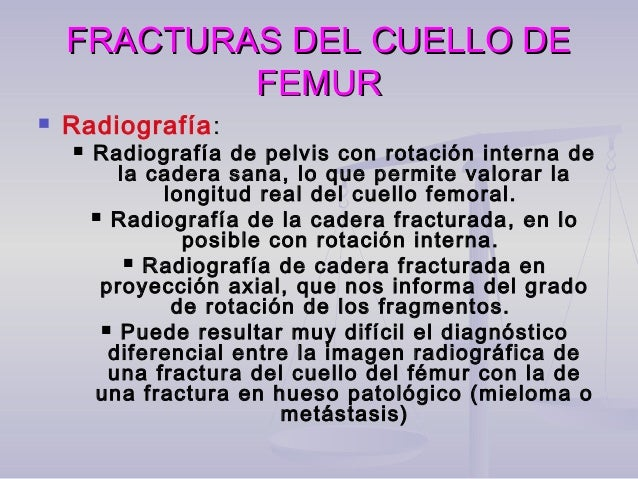  Fractura subcapital. El fragmento distal ascendido y rotado alFractura subcapital. El fragmento distal ascendido y rotad...