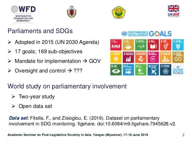 Interface between PLS and SDGs and the state of play in South East Asia and the Pacific Slide 2