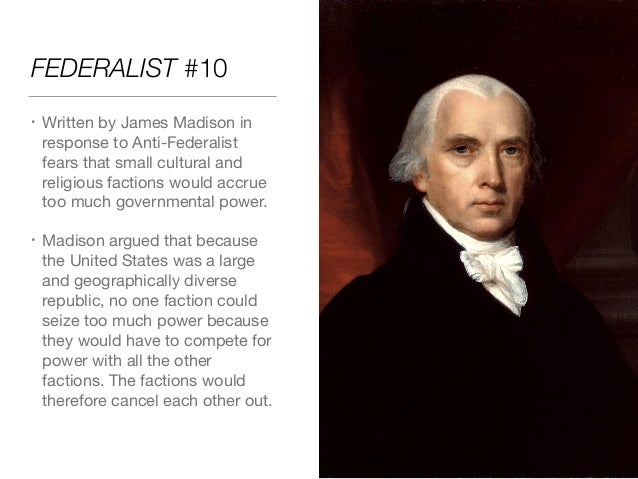 Summary and Analysis of James Madison's Federalist No. 51