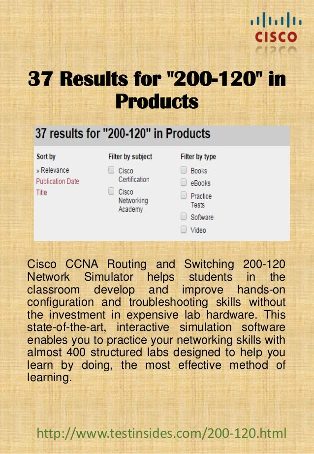 Cisco Ccna Routing And Switching 200 120 Pdf download