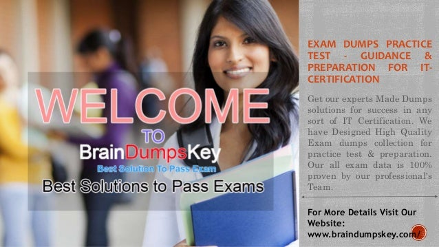 EXAM DUMPS PRACTICE TEST - GUIDANCE & PREPARATION FOR IT- CERTIFICATION Get our experts Made Dumps solutions for success i...