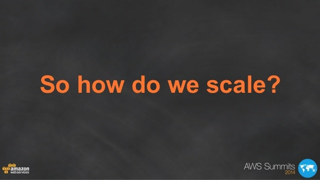 AWS Summit London 2014 | Scaling on AWS for the First 10 Million Users (200) Slide 3