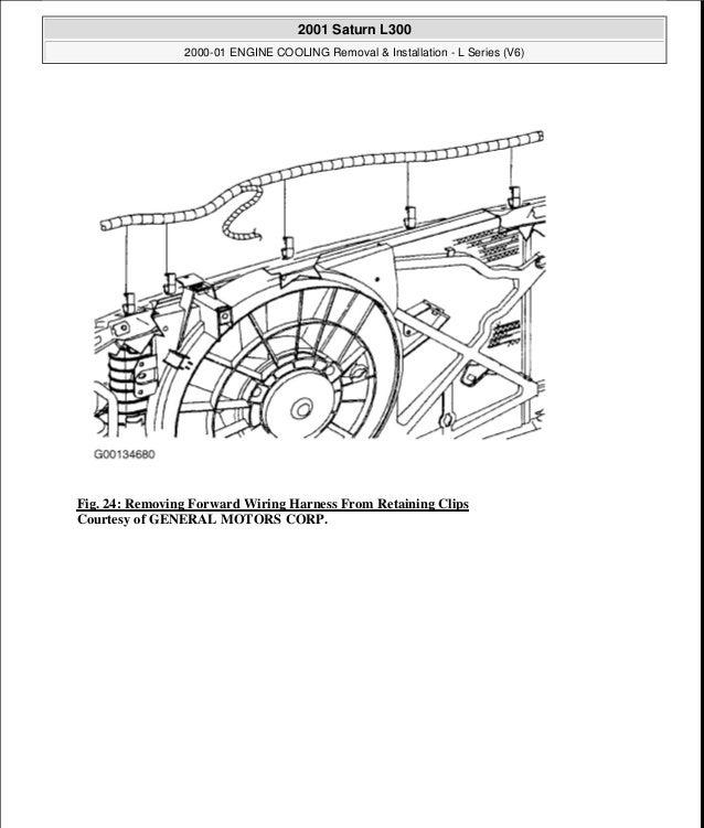 2001 saturn l series engine