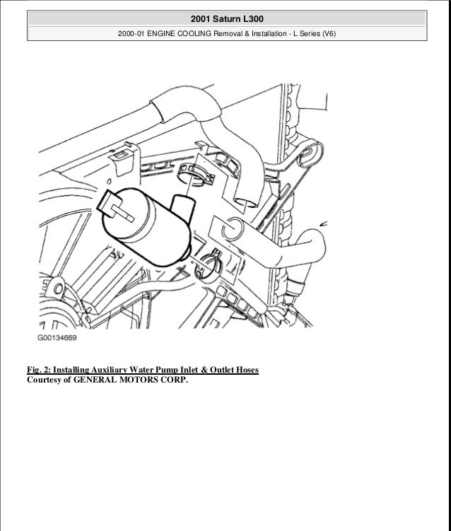 engine diagram 2001 saturn l series