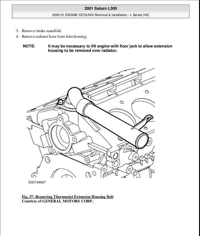 2000 01 Engine Cooling