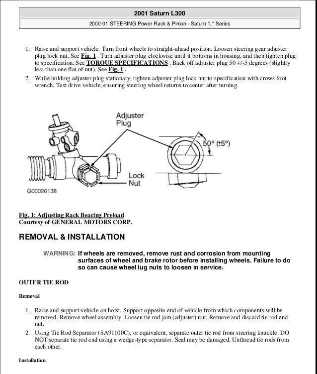 2000 01 Power Steering. Saturn. 2000 Saturn Front End Diagram At Scoala.co