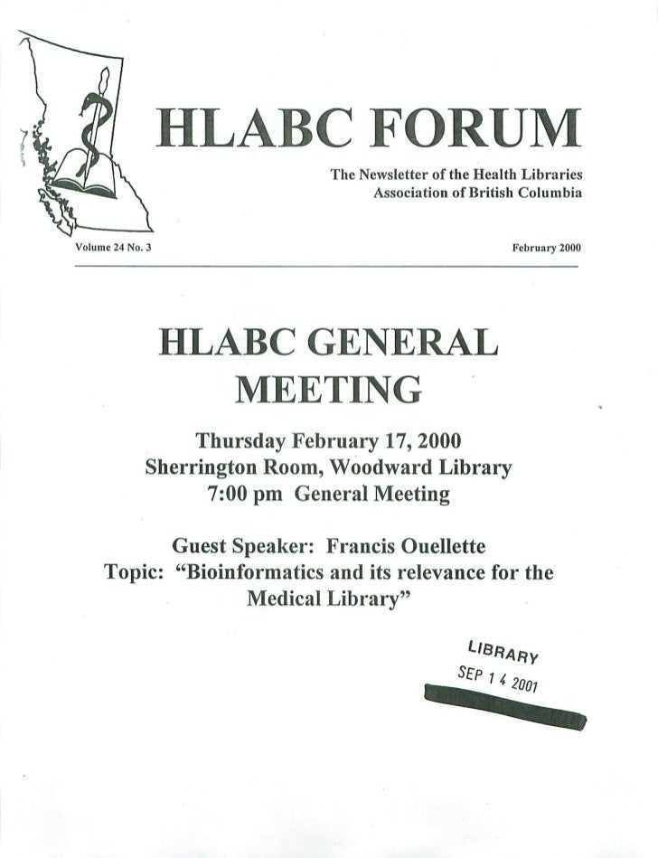 HLABC Forum: February 2000