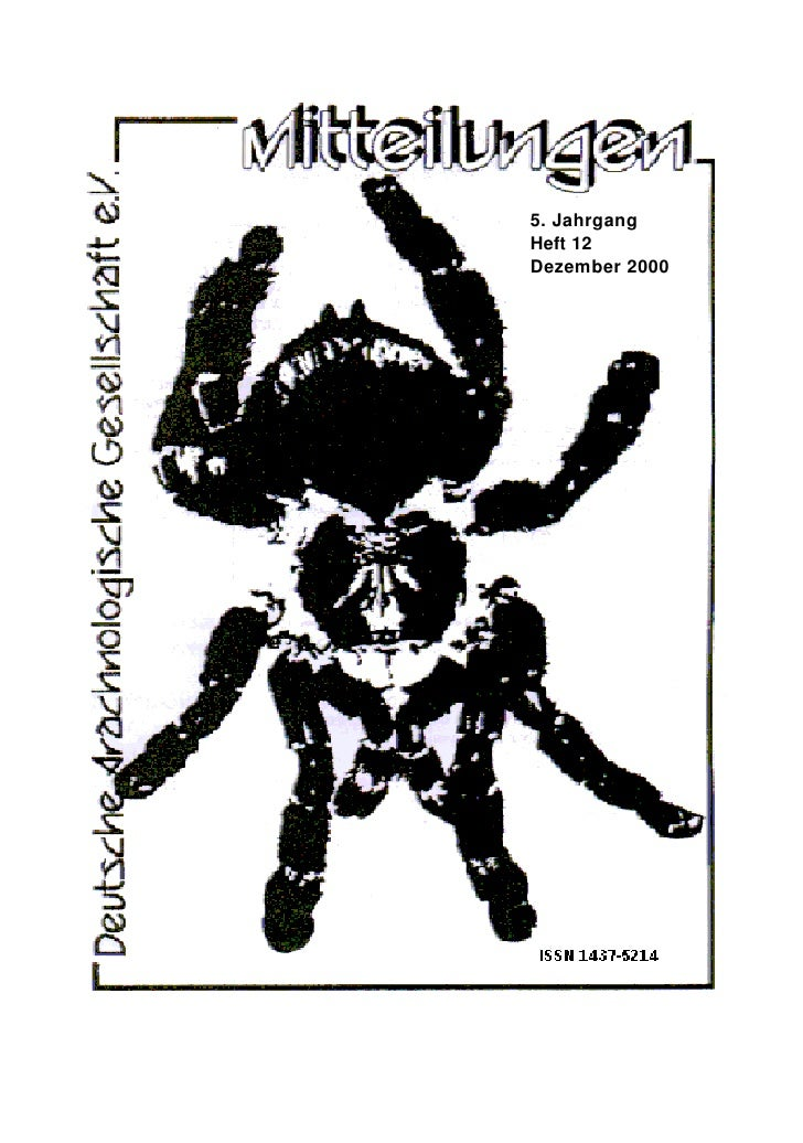 5. Jahrgang Heft 12 Dezember 2000