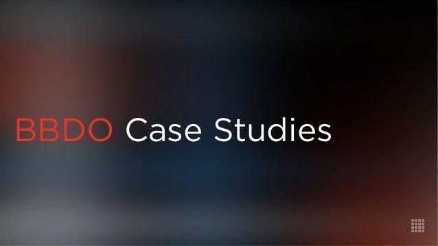 BBDO Case Studies