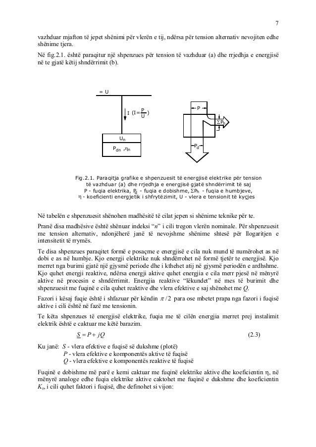 7 vazhduar mjafton të jepet shënimi për vlerën e tij, ndërsa për tension alternativ nevojiten edhe shënime tjera. Në fig.2...