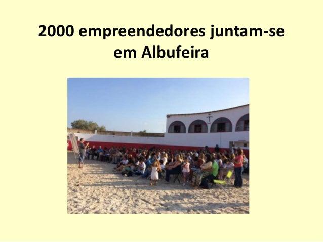 2000 empreendedores juntam-se em Albufeira