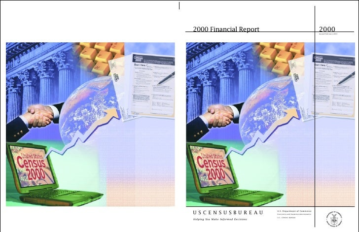 2000 Financial Report                                                           2000                                      ...