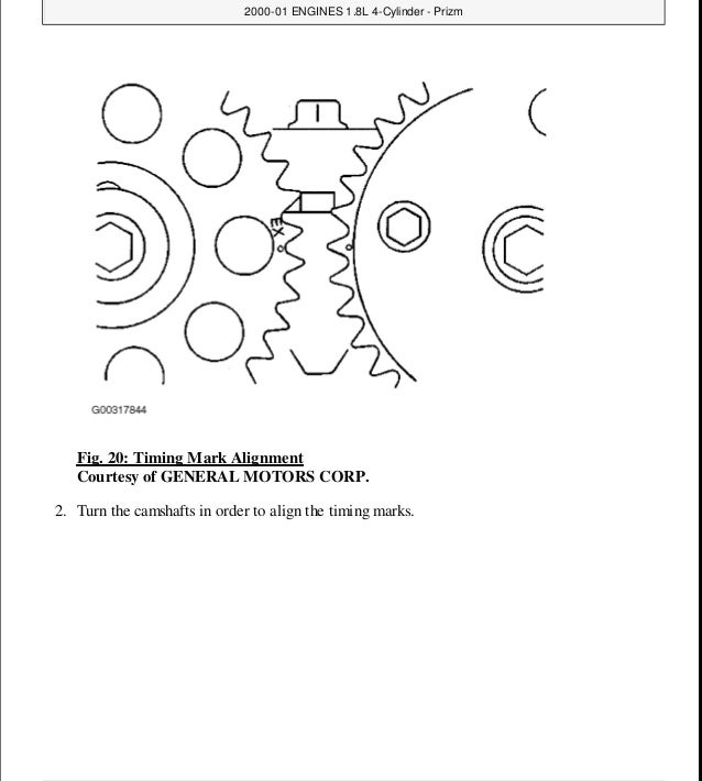 2000 Toyota Corolla Service Repair Manual