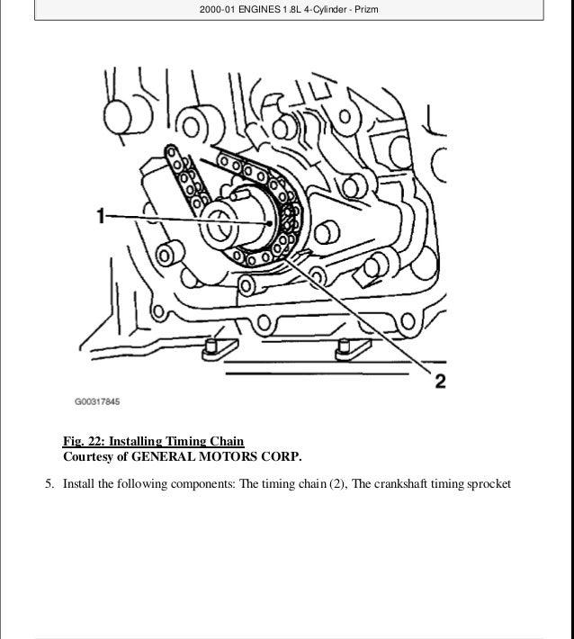 2000 toyota corolla service repair manual rh slideshare net Toyota Corolla Fog Light Installation Toyota Corolla XLI Timing-Chain