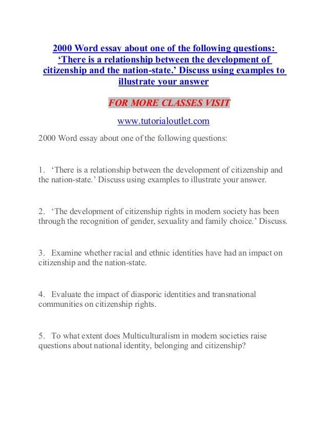 essay on duties of a citizen