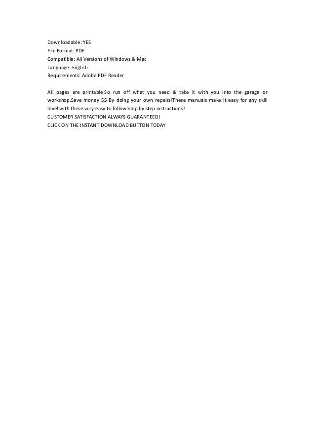 Honda Cbr F I Service Repair Factory Manual Instant Download on Honda Cbr 600 F4i Wiring Diagram
