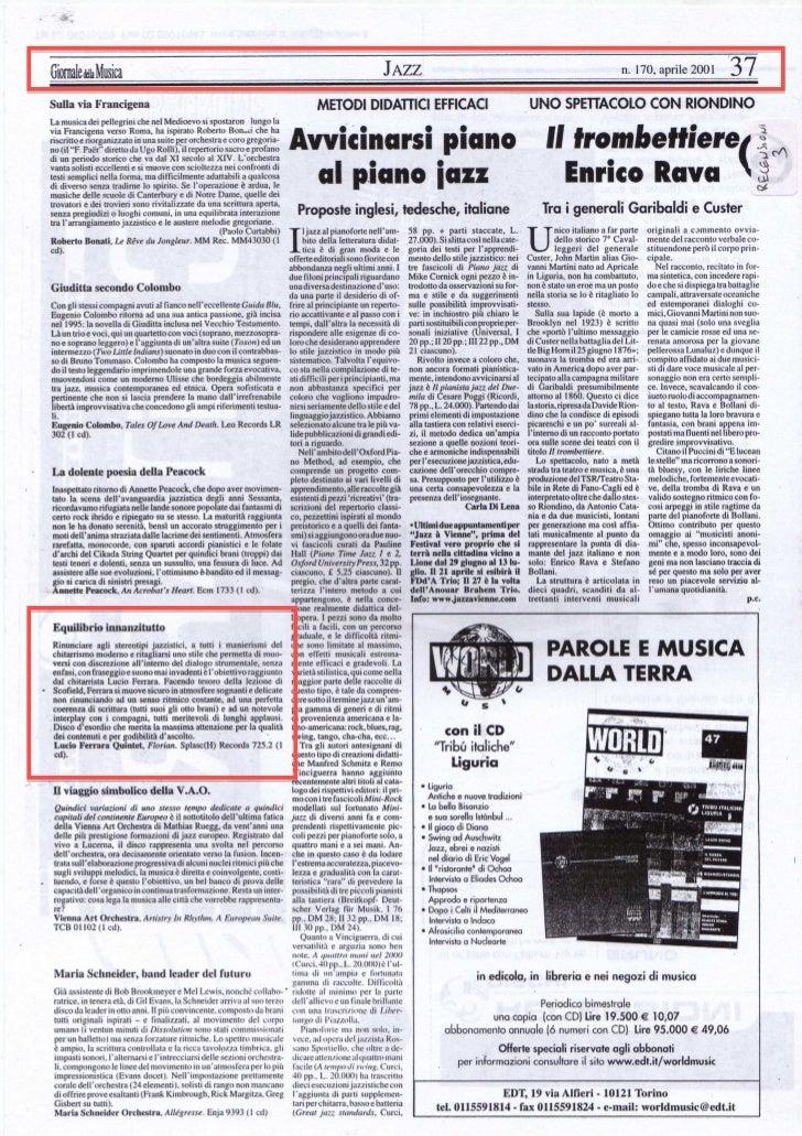 2001   il giornale della musica