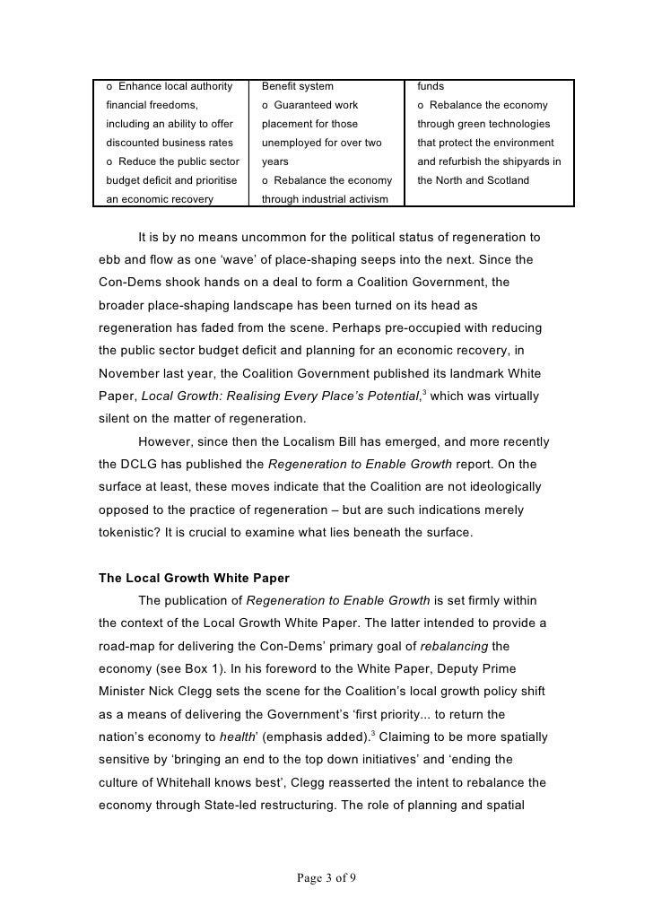 2011 Regeneration 'ConDemned'? - Pugalis Slide 3