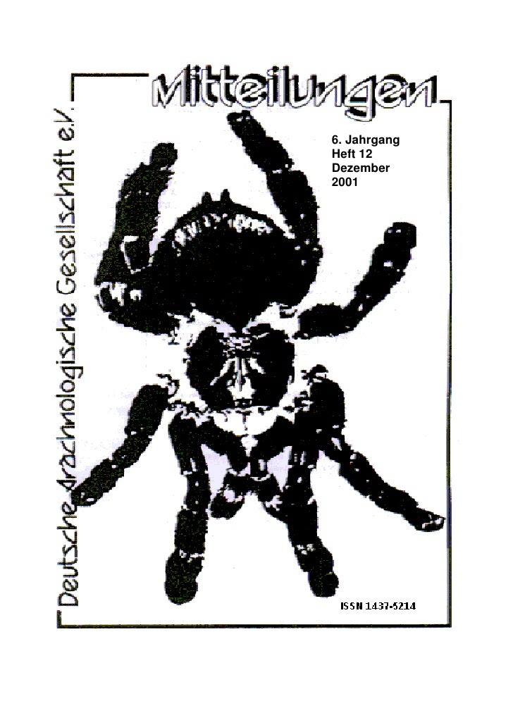 6. Jahrgang Heft 12 Dezember 2001