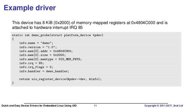 device driver pdf