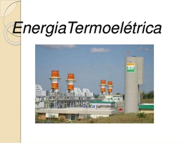 EnergiaTermoelétrica