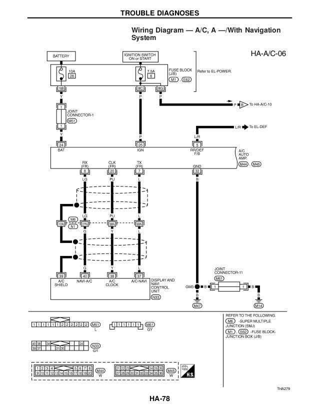 2001 infiniti q45 service repair manual rh slideshare net Wiring Diagrams 2007 Infiniti FX35 1997 infiniti q45 stereo wiring diagram