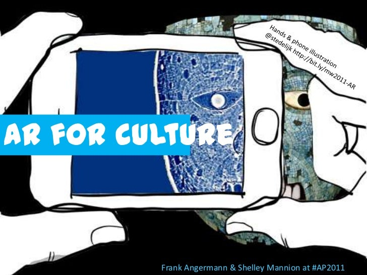 AR for culture<br />Frank Angermann & Shelley Mannion at #AP2011<br />