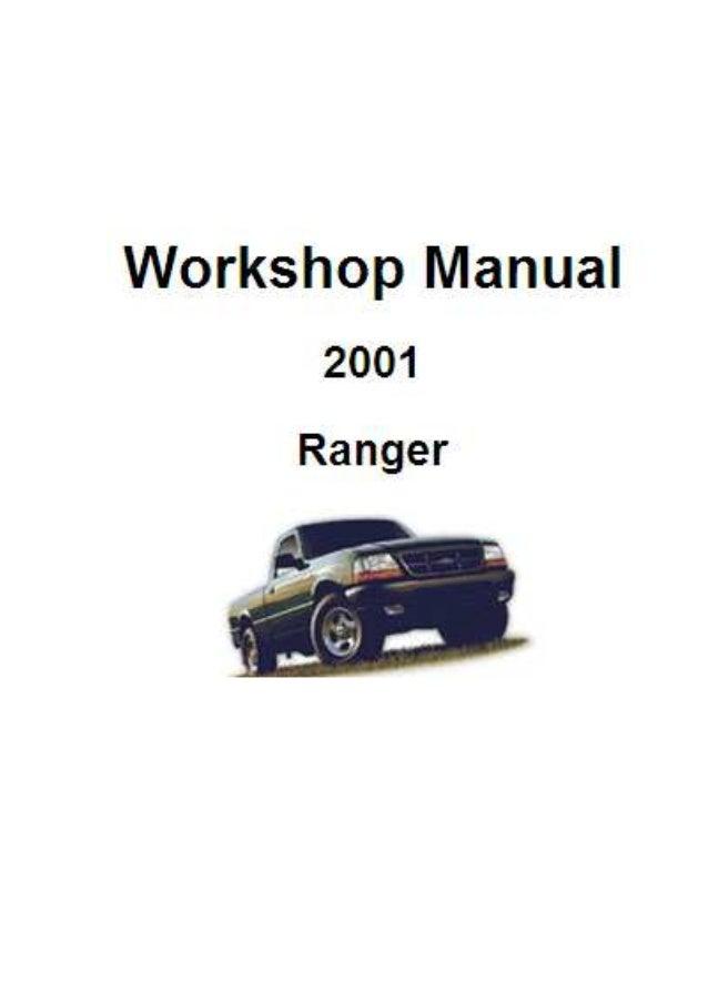 manual de taller ranger ford a partir del 2001 rh slideshare net manual da ranger limited 2008 2009 Ranger